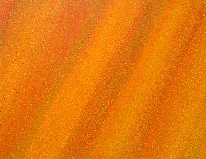 australian desert song original painting burnt orange colour