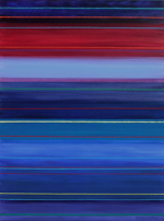 spectrum shift contemporary abstract artist blue period painting art
