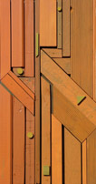 trees wood contemporary abstract geometric wall sculpture bas-relief